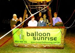 Mum's Hot Air Balloon Ride - Dec 2006