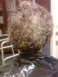 after a perm
