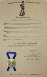 Massachusetts Governors Declaration