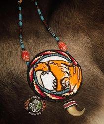 Smilodon medallion