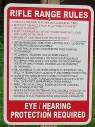 Rifle Range Rules