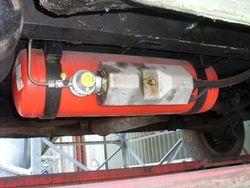 LPG underslung tank