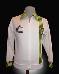Norwich players macth worn tracksuit top 1978 for sale