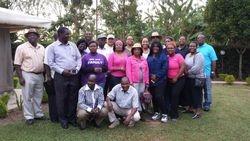 Eagles Rock Ministry Team in Kenya