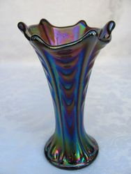 "5 1/2"" Miniature Thin Rib and Drape, purple"
