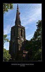 Steeplejacks, Mellor Church, Mellor, England