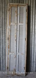#29/036 FRENCH WINDOW SHUTTERS FRAME DETAIL
