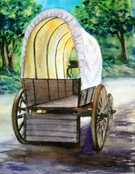 Covered Wagon, Fort Hope