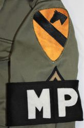 1st Cavalry Div. MP. into the 50's: