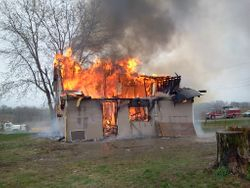 Mitchellville Training Fire, 5-5-13