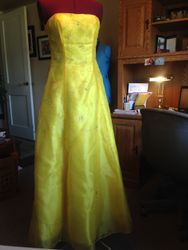 Mom's prom gown #1-4