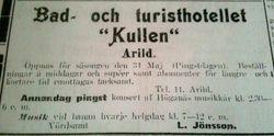 Turisthotellet Kullen 1914