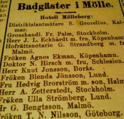 Hotell Molleberg 1913