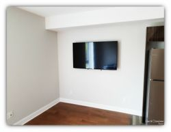 55 inches TV wall mount installation