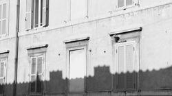 Shadows against a wall