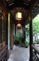 Walkway,  Lan Su Chinese Garden