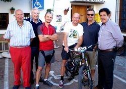 Paul, Dennis, Stewart, Joe, Ivan and The Mayor