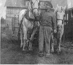 Farmer John w/ Belgins Dick & Dan