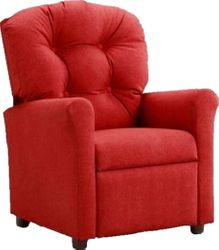 #400 Child Recliner  - Solid Red cotton