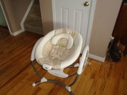 Graco Glider LX Gliding Swing with AC Adapter- Swing - $50