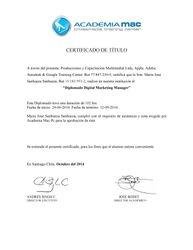 Diplomado Digital Marketing Manager