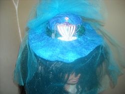 Teal and Turquoise Hatinator
