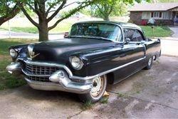 53. 55 Cadillac 2 door Coupe Deville