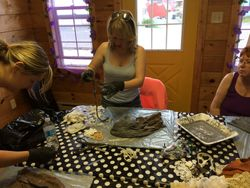Mask Making Class June 2014