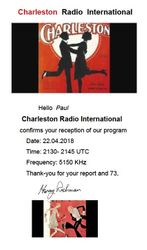 Charleston Radio Int