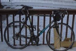 The bike before we started