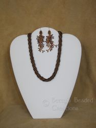 African Helix Necklace