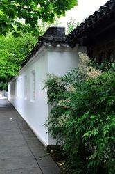Wall, Lan Su Chinese Garden