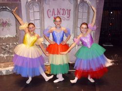 """three of our 2010 """"Little Match Girl"""" dancers"""