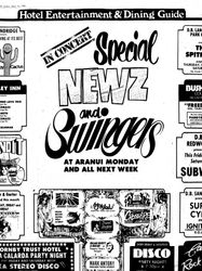 Swingers and Newz at Aranui