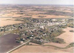 Aerial view of Strathclair