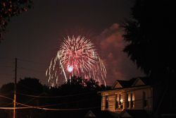 Home town Fireworks 3