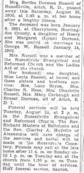 Russell, Bertha Dorman 1955