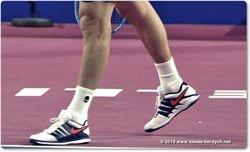 Tomas Berdych wears NIKE shoes