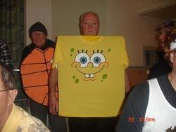 Spongebob and turtle man