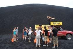 Volcano boarding, Nicaragua 3