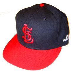 ST. LOUIS CARDINALS AUTHENTICS: Albert Pujols 2010 Civil Rights Game Used Worn Hat