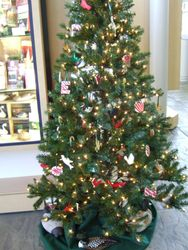 Christmas at the Bedford Visitors Center