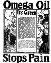 Omega Oil Stops pain