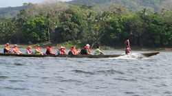Dugout canoe rise at Embera Indigenous Village