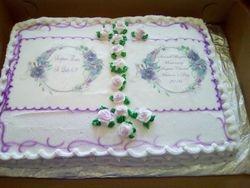Church Program cake
