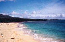 Makena beach on Maui