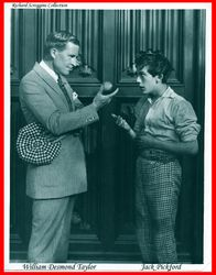 William D Taylor with Jack Pickford