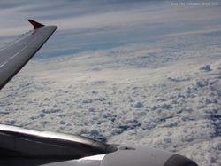 Clouds seen on a Brazilian flight