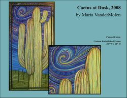 Cactus at Dusk