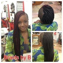 Long Box Braids with Kanekolan hair